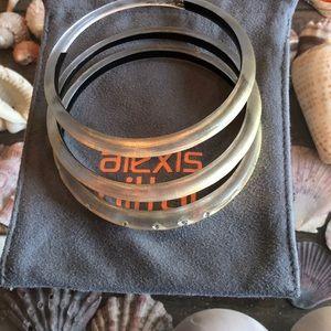 Alexis Bittar set of three bangles